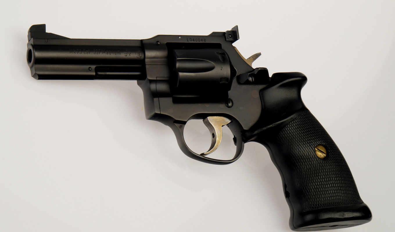 револьвер, пистолет, magnum, ствол, картинка,