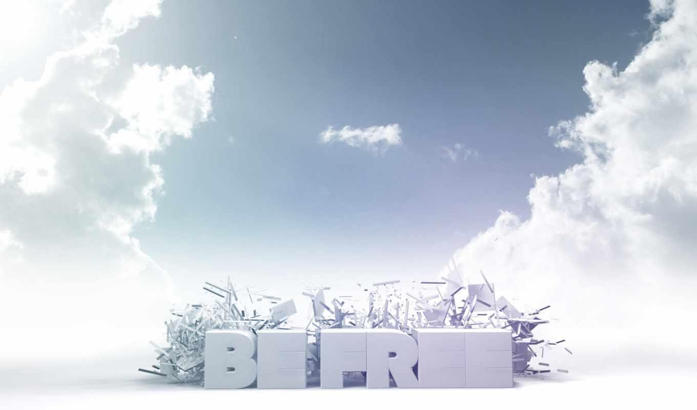 небо, облака, голубой, белый, desktop, cloud, солнечное, богородицком, photoshop,