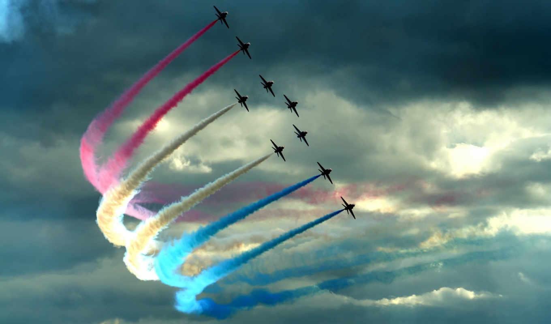 air, show, aircraft, colour, февраля, шлейф, цвет, истребители, sky, wdpic, salvează, день, tricolori, самолеты, авиация, frecce,