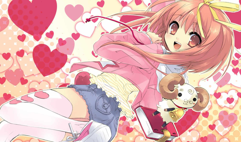 аниме, drops, nanatsu, iro, радужные, капли, friendster,