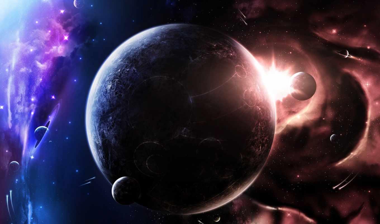 kosmos, планеты, фэнтези, корабли, количество, facebook, www,