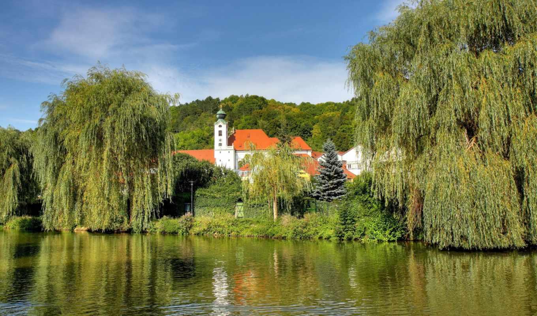 картинка, природа, landscape, реки, германия, бавария,