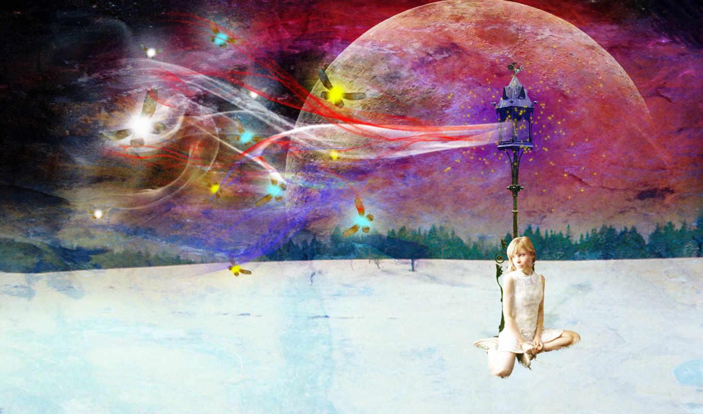 winter, небо, blue, you, природа, ghost,