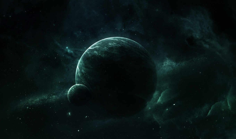 космос, best, pack, планеты, картинку, монитора, уклоном, космическим,