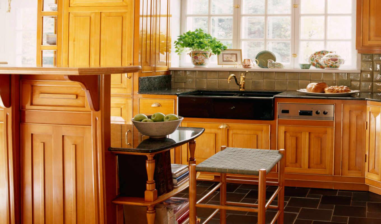 pantalla, кухни, interior, fondos, fondo,