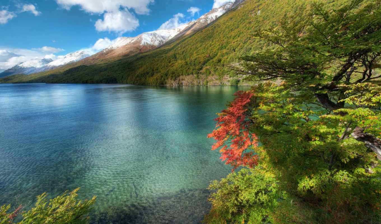 пейзажи -, природа, landscape, красивые, горы, побережье, гора, озеро, аргентина, море,