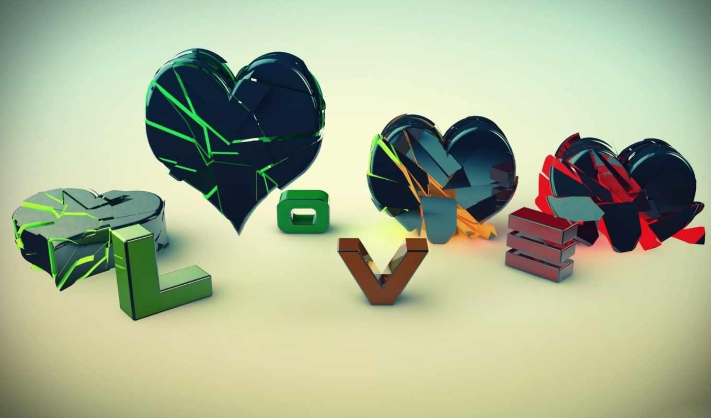 ,, зеленый, сердце, любовь, сердце, разбитое сердце, иллюстрация, искусство,