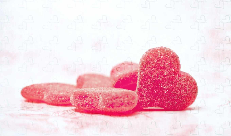сахар, мармелад, сердечки, сердце, сладкое, конфеты, makro,