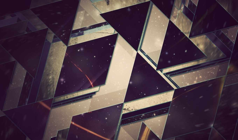 abstrakciya, просмотреть, геометрия, фигуры,