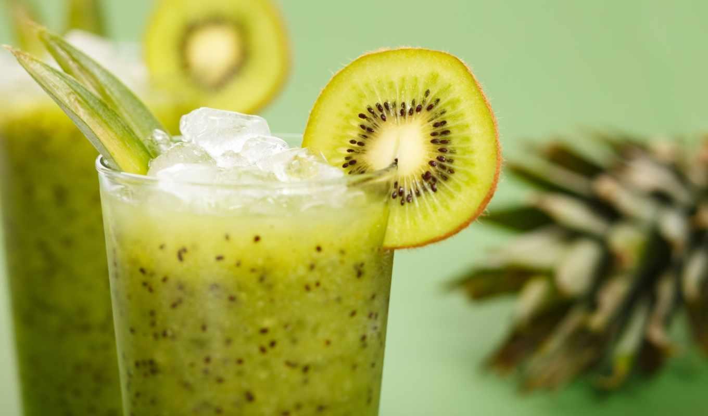 smoothie, зелёный, киви, smoothies, more, об, see, банан,