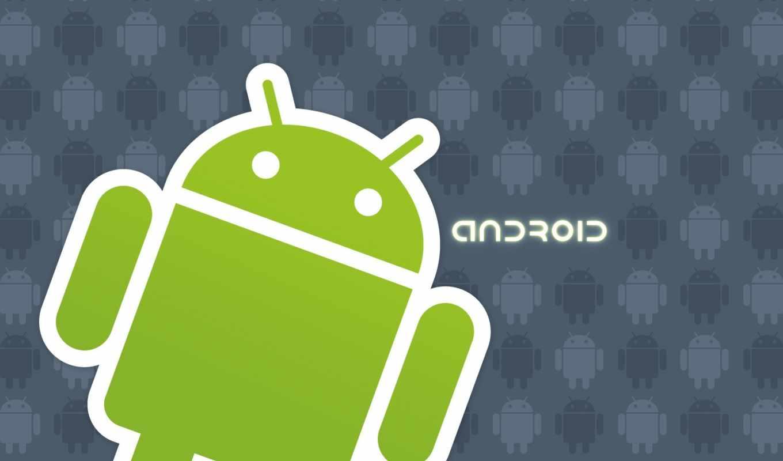 андроид, лого, зелёный
