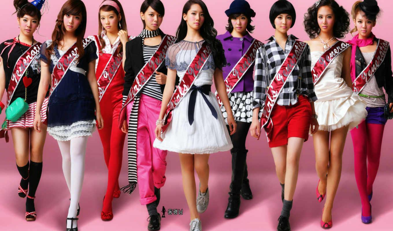 girls, поколение, snsd, девушка, devushki, группа,