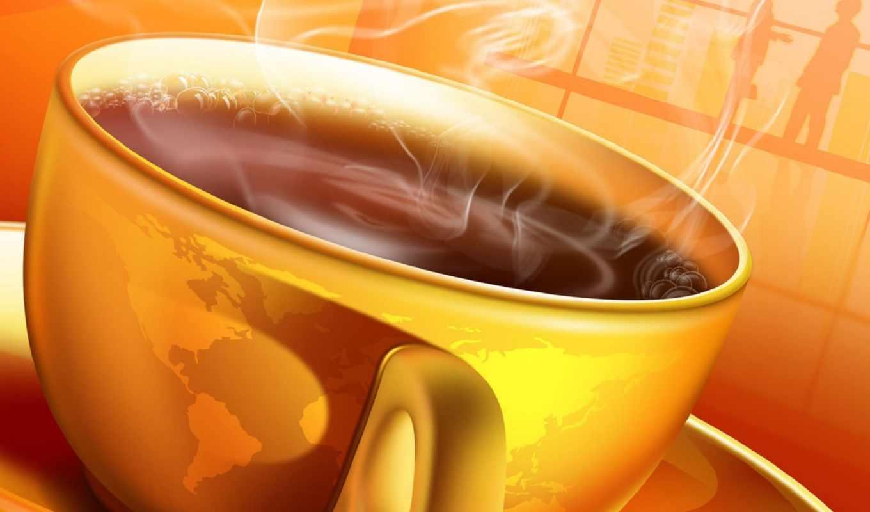 широкоформатные, графика, бесплатные, красивые, coffee, cup, разрешением, full,
