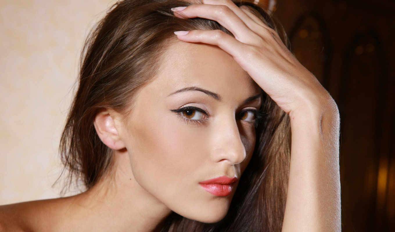анна, sbitnaya, faces, women, eyes, lips, brunettes, глаза, ukrainian,