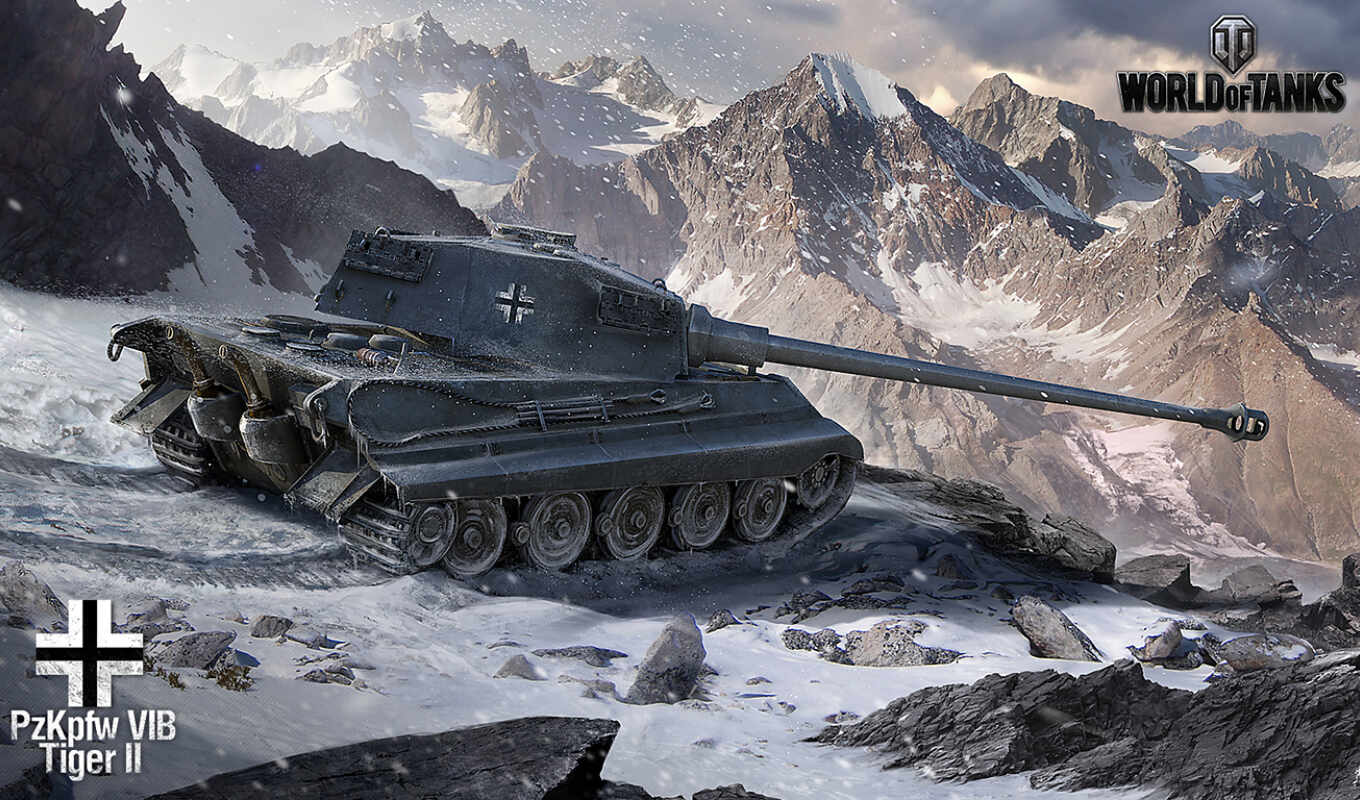 tanks, tiger, world, king, pzkpfw, vib,