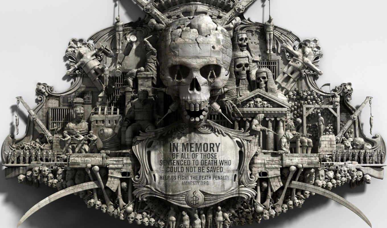 мемориал, череп, военный, война, память, стиль, разрешении, картинку,