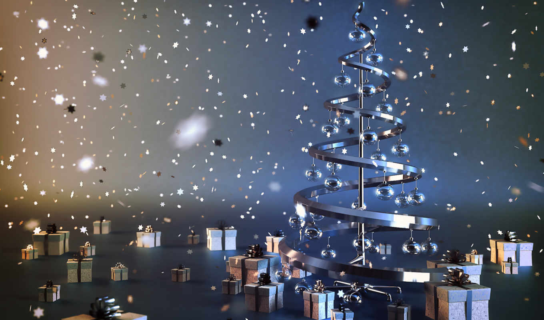 новый, год, креатив, елка, happy, christmas, gifts,