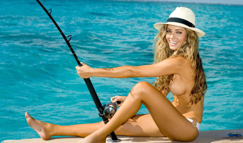 рыбалка, fish, обнаженная, girls, эротика, девушка, playboy, xoxo, об, babes,