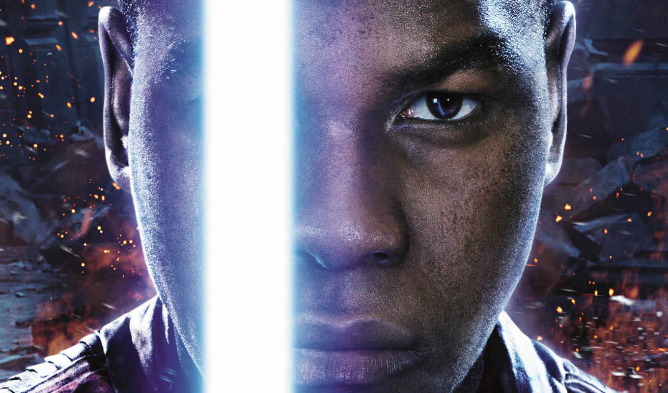 john, boyega, finn, star, wars, awakens, сила,