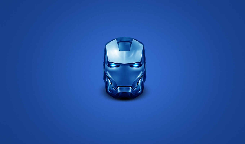 железный, человек, шлем, костюм, защита,