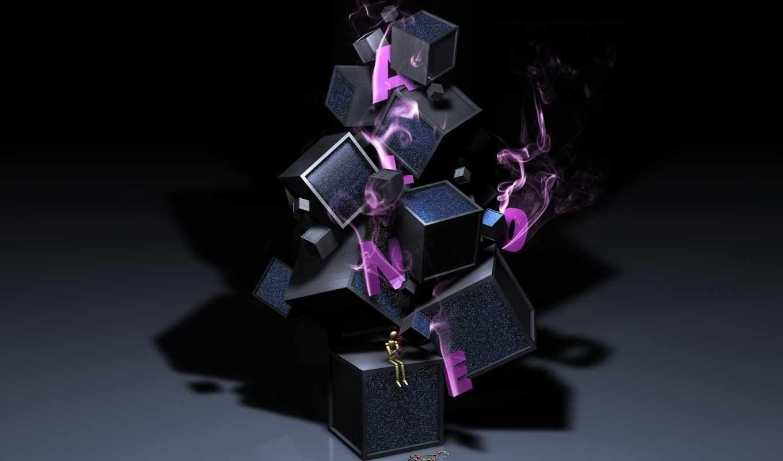 letter, boxes, обоя, кубики, фантазия, ipad,