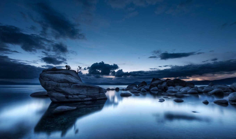 ночь, landscape, пейзажи -, красивые, ночные,