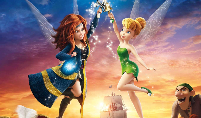 tinker, bell, secret, wings, movie, full, tinkerbell, her, фея,