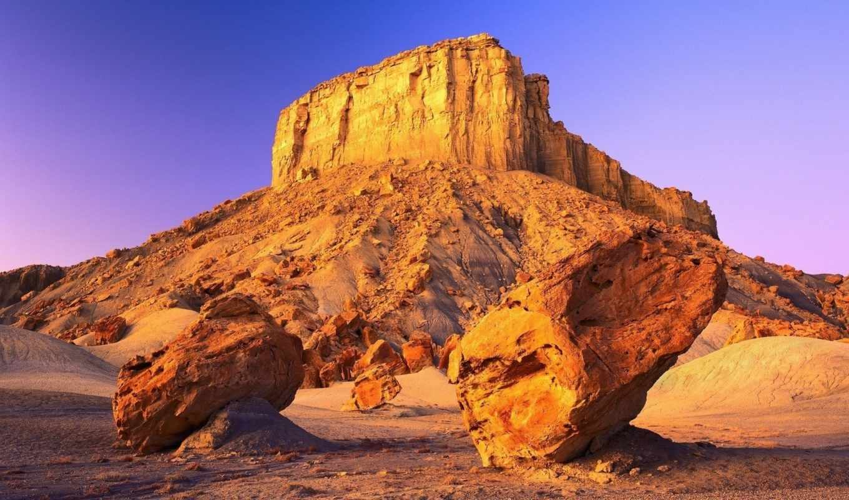 desert, nature, гора, pemandangan, категория, огромные, большая, камни, rocks, просмотров, fonds, ecran, www, gratuits, iphone,