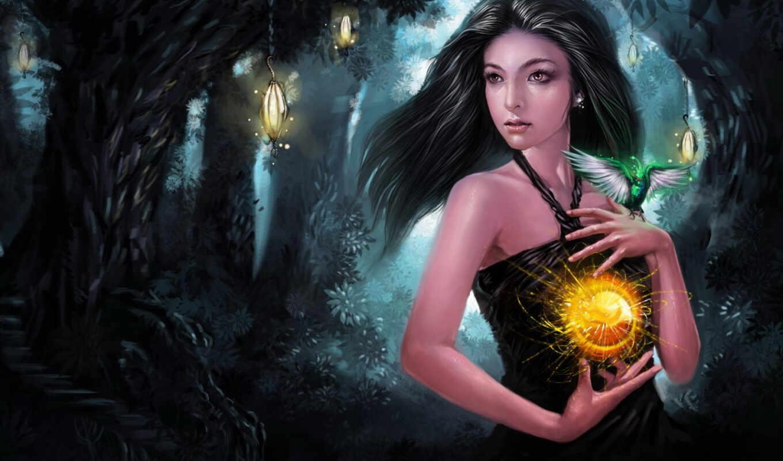 фэнтези, стиле, подборка, forest, любителей, привлекает, магического, загадочного,