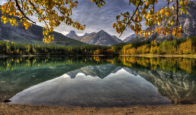канада, горы,