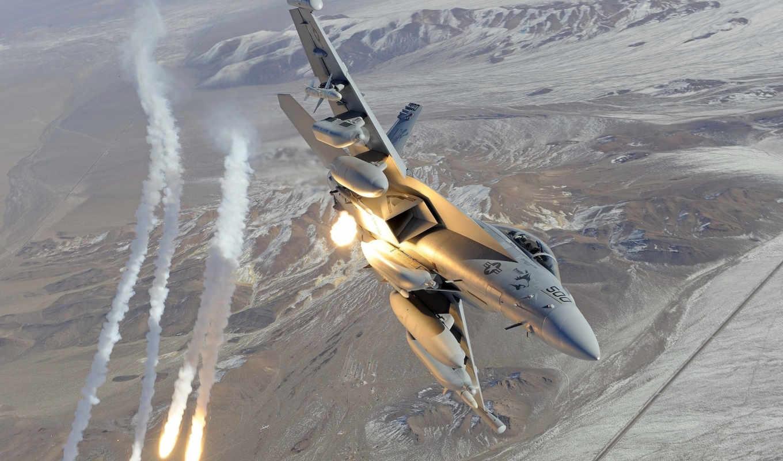 ракеты, авиация, ea, истребитель, growler, огонь, военная, hornet, mcdonnell, military, douglas, aircraft,