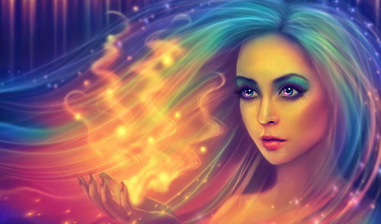 aurora, fantasy, girl, fonds, ecran, papéis, download, best, menina, fantasía, parede, fantastic, hintergrundbilder, svet, fille, fantasme,