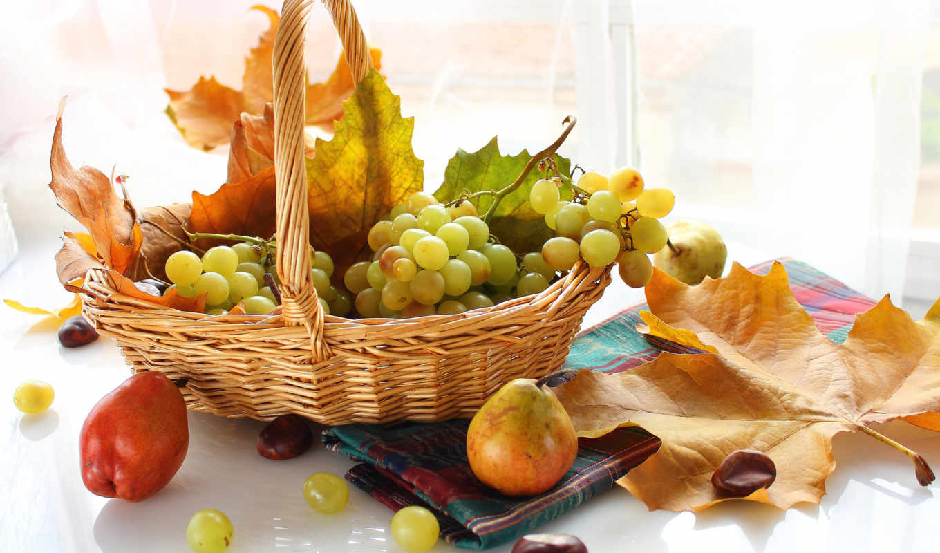 , fruits, food, grapes,