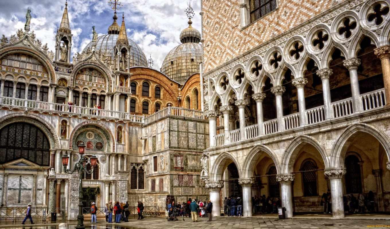 venice, дворец, doge, basilica,
