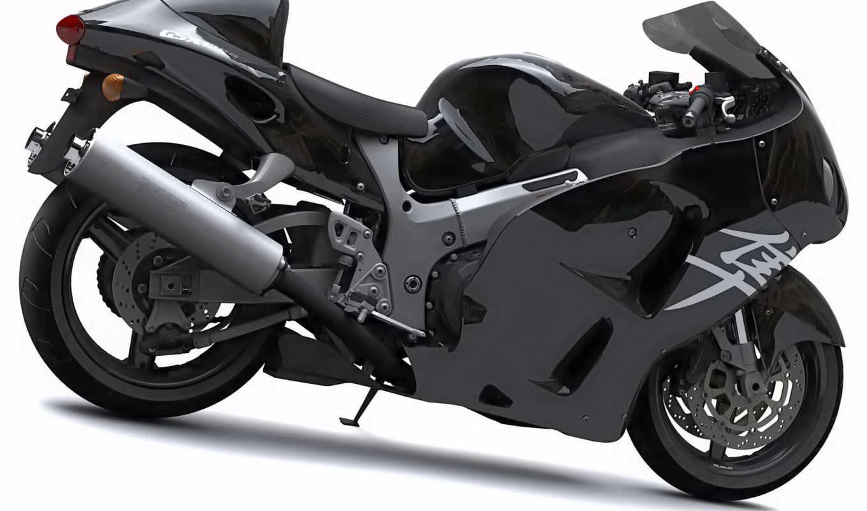 мотоциклы, suzuki, hayabusa, best, bikes, black, world,