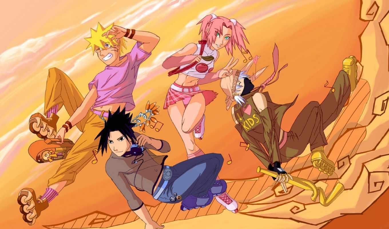 naruto, густав, cool, anime,