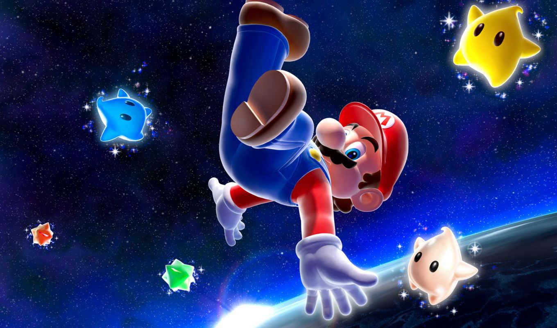 mario, super, игра, galaxy, вернуться, espaco, изображения, поделиться,