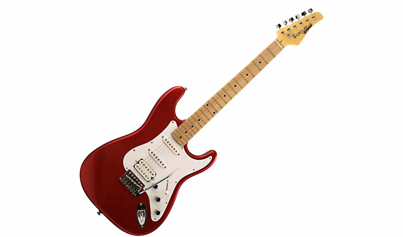 rocktile, kramer,  rocktile pro st450-wk, eric, gitarre, metallic,, guitar, bronze, stratocaster,