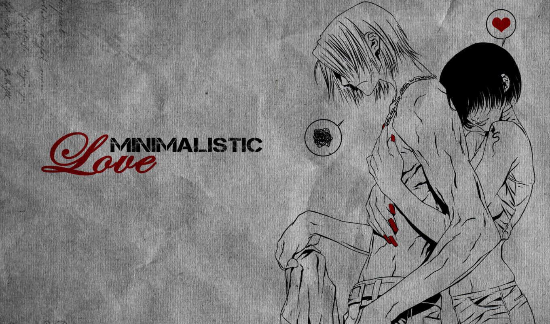 love, карандашом, рисунок, anime, высоком,