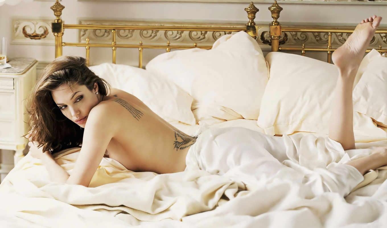 девушка, devushki, jolie, angelina, кровать, подборка, девушек, красивые, everything, игры,