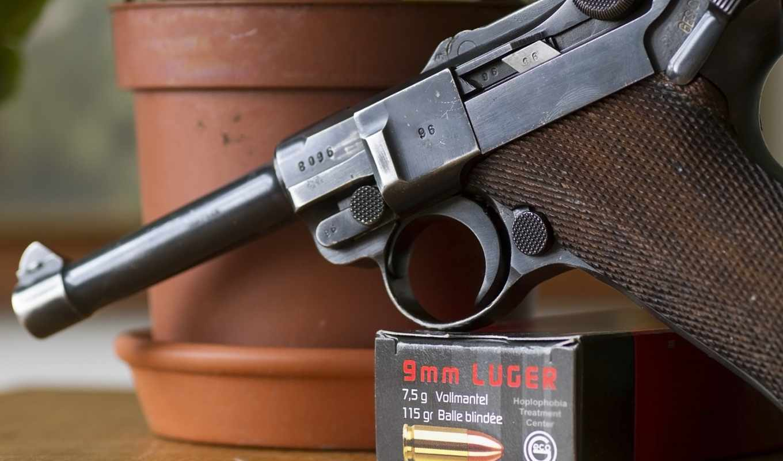 luger, пистолет, люгера, парабеллум, pistol,