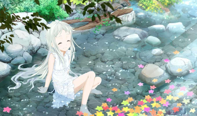 meiko, honma, anime, мэнма, anohana, unseen, цветы,