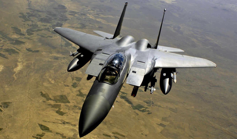 eagle, истребитель, высота, aircraft,