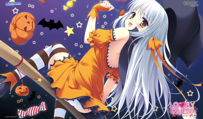 character, tagme, halloween, аниме, изображение,