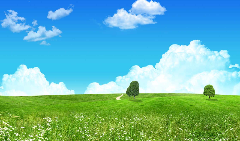 зелёный, landscape, fantasy, кб, природа, final, desktop,