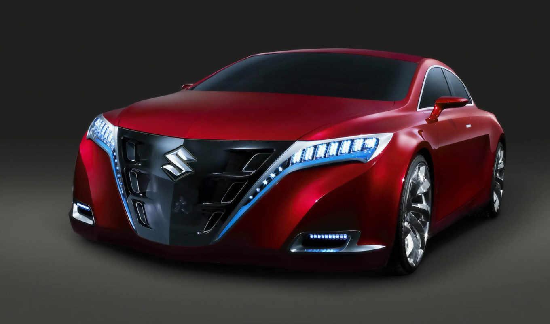 suzuki, kizashi, concept, авто, cars, car, машины, автомобили,
