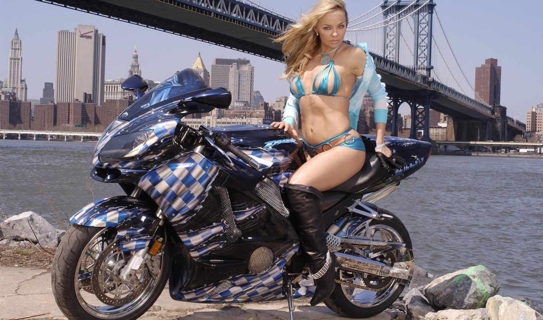devushki, мотоциклы,