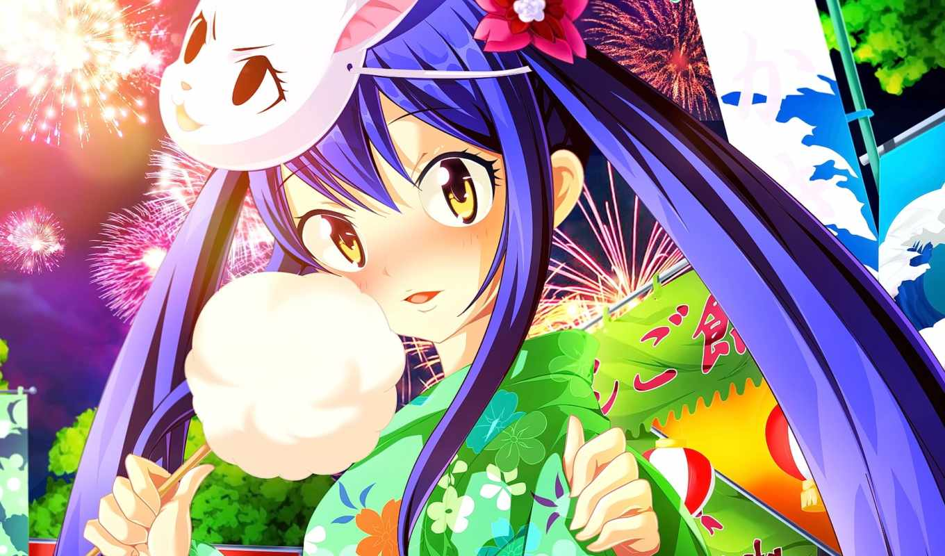 wendy, tail, фея, marvell, anime, images, girls,