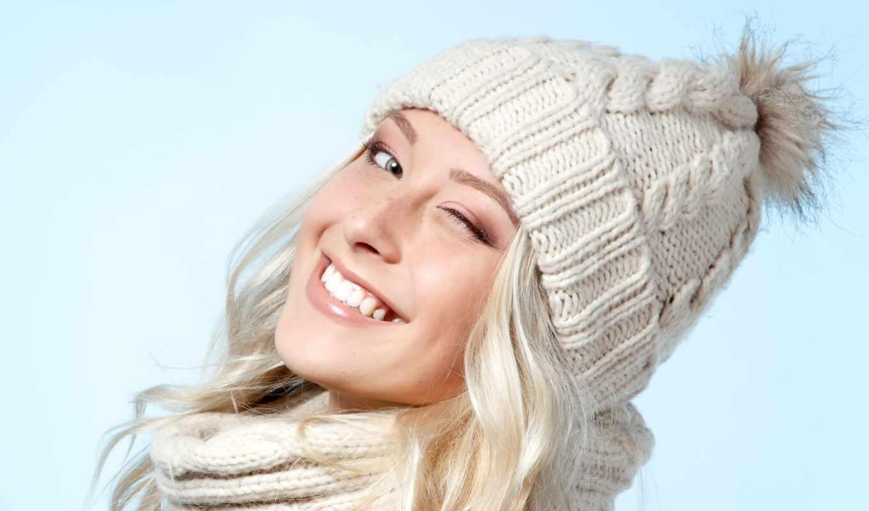 шапка, подход, который, blonde, шуба, attire, голова, глаза, color, оттенок, стиль