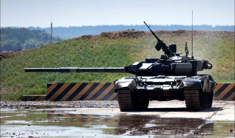 т-90,танк,полигон,пулемет,ствол, техника, россия,